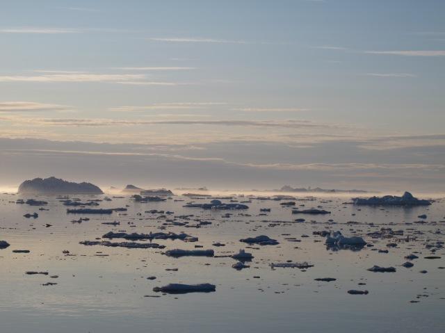 Icebergs at Ilulissat
